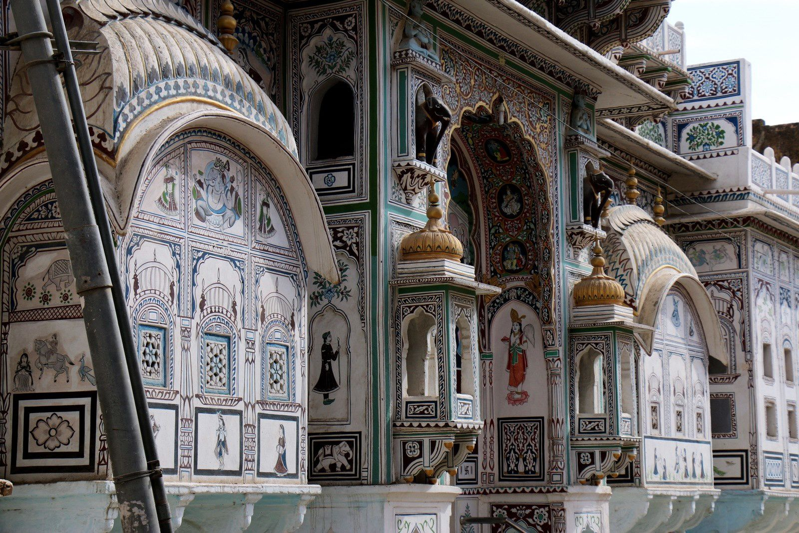 Haveli à Fatehpur, Inde (3/4)