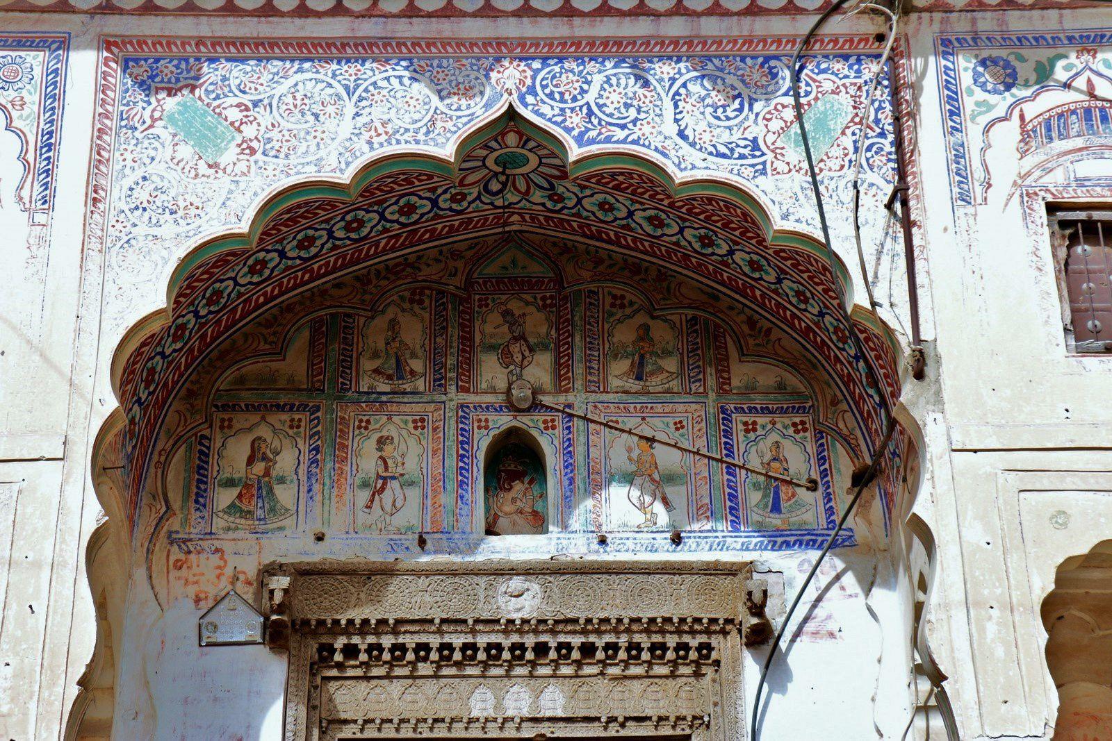 Haveli à Fatehpur, Inde (4/4)