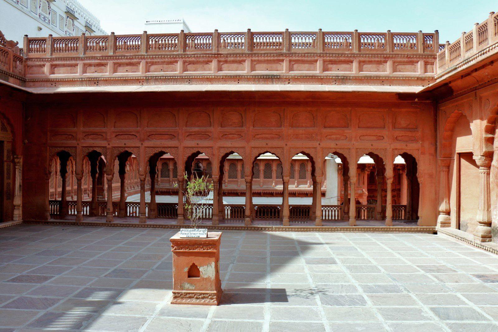 Cour Holi, Junagarh Fort (Bikaner, Inde)