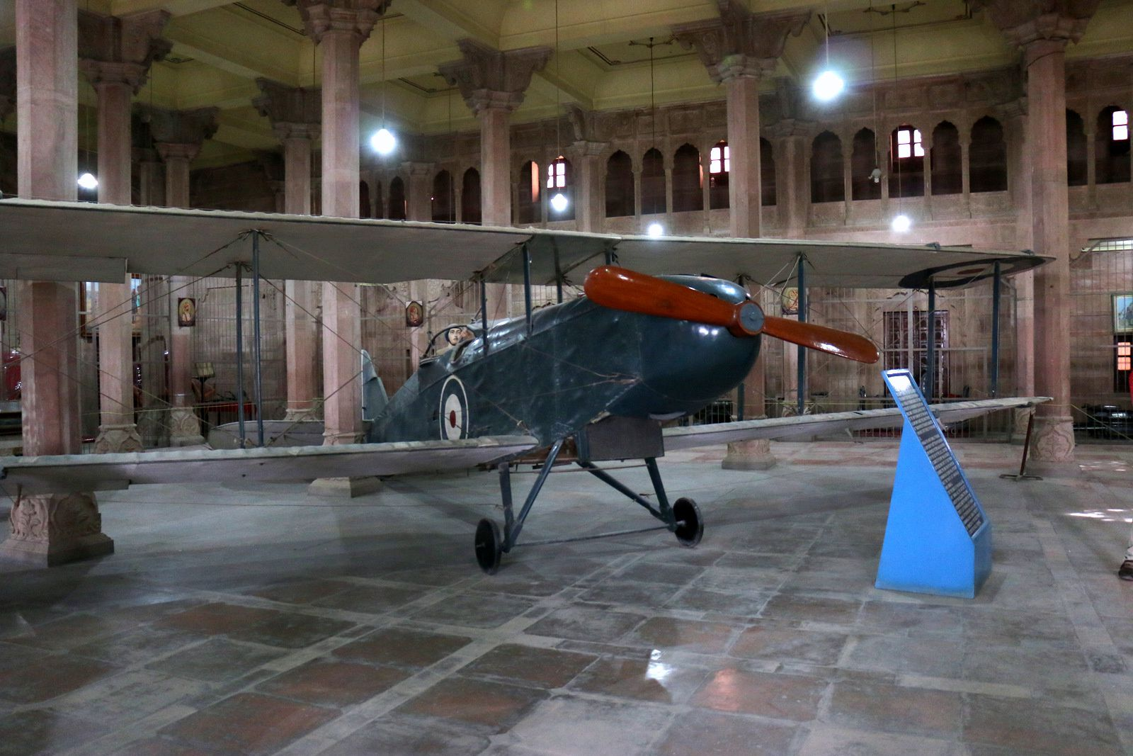 DH-9 De Haviland, Junagarh Fort (Bikaner, Inde)