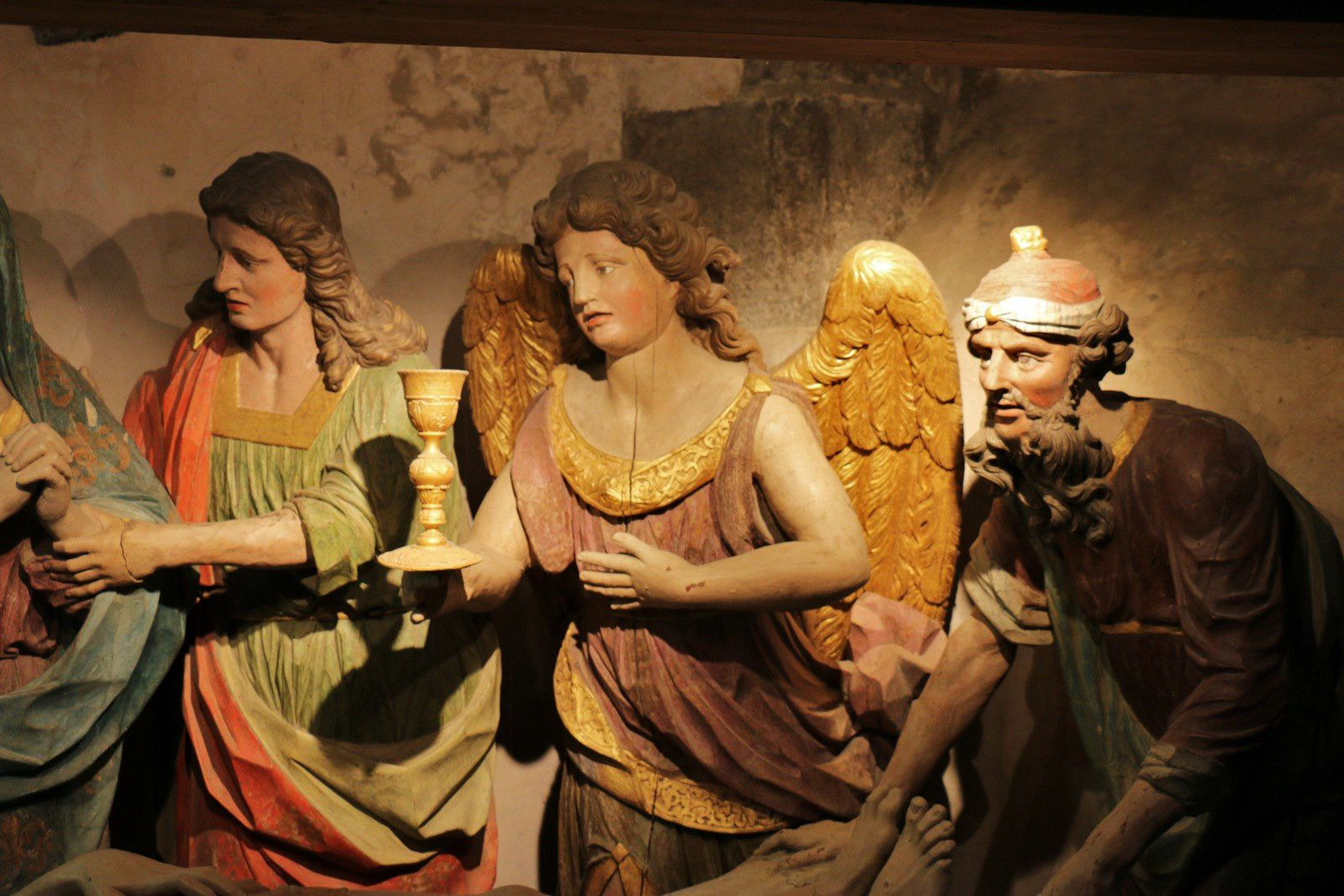 Mise au tombeau de l'église de Saint-Thégonnec
