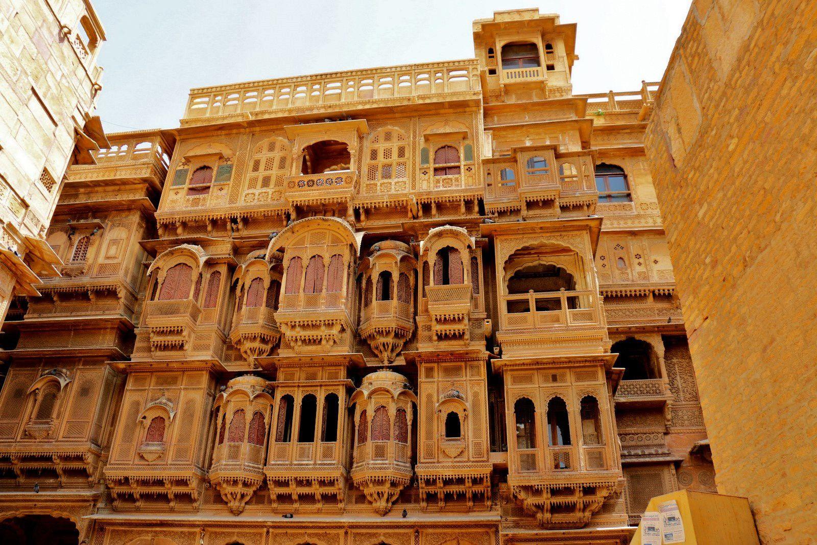 Haveli à Jaisalmer (Inde)