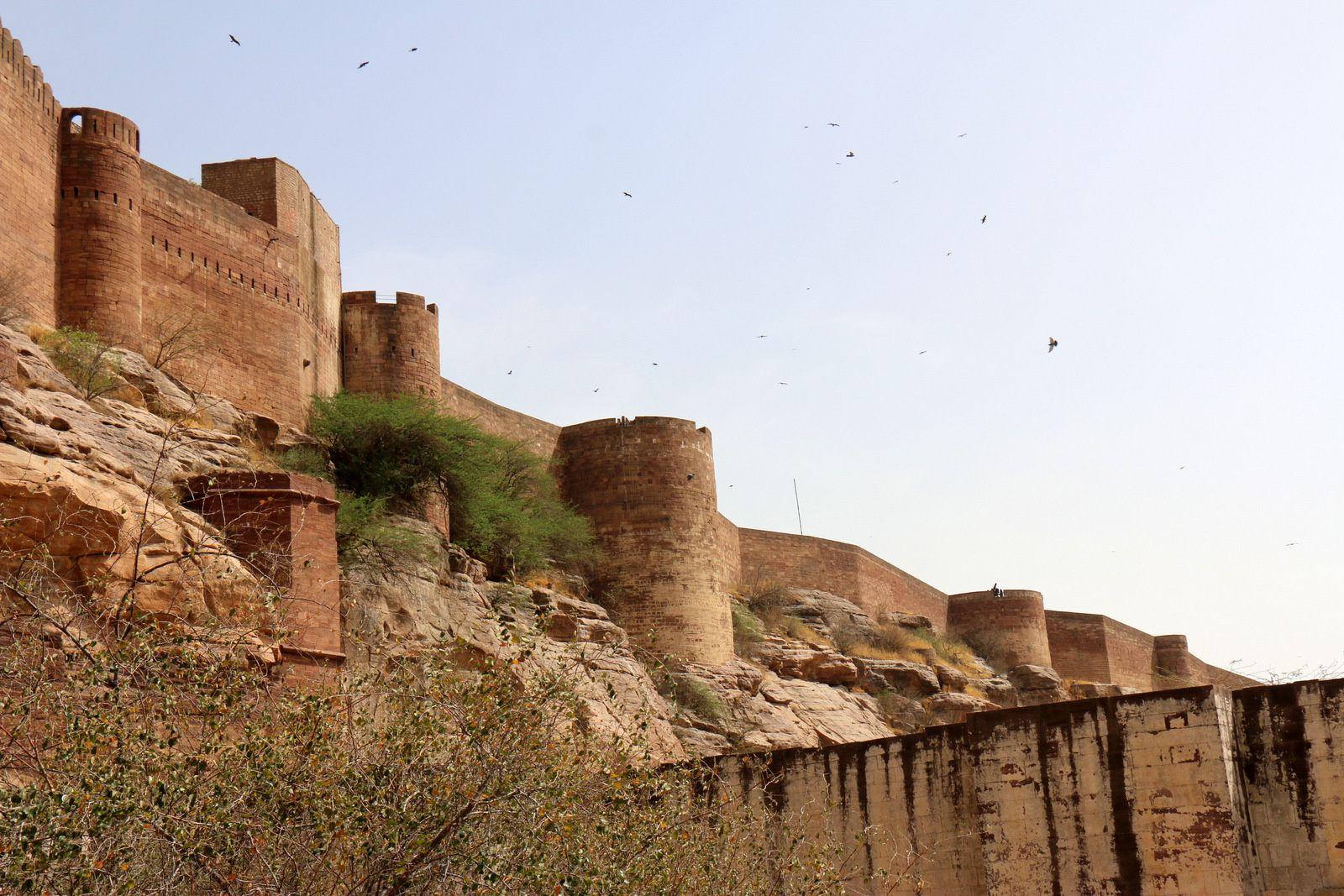 Le Fort de Mehrangarh, Jodhpur (Inde)