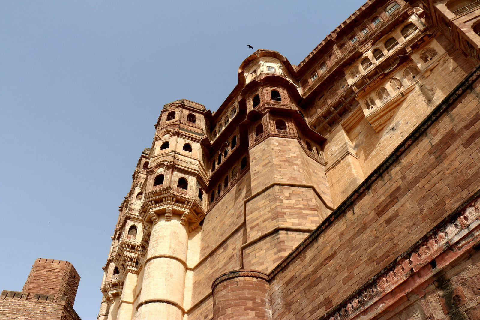 Dans le Fort de Mehrangarh, Jodhpur (Inde)