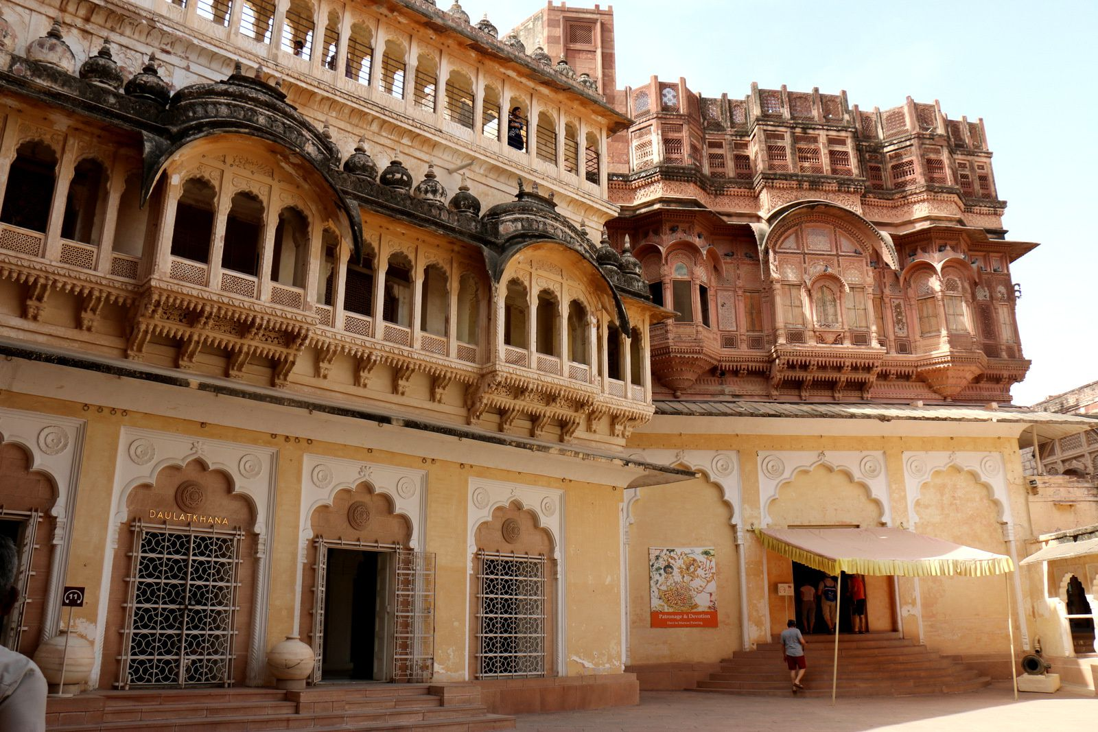 Palanquin Mahadol, musée de Mehrangarh (Jodhpur, Inde)