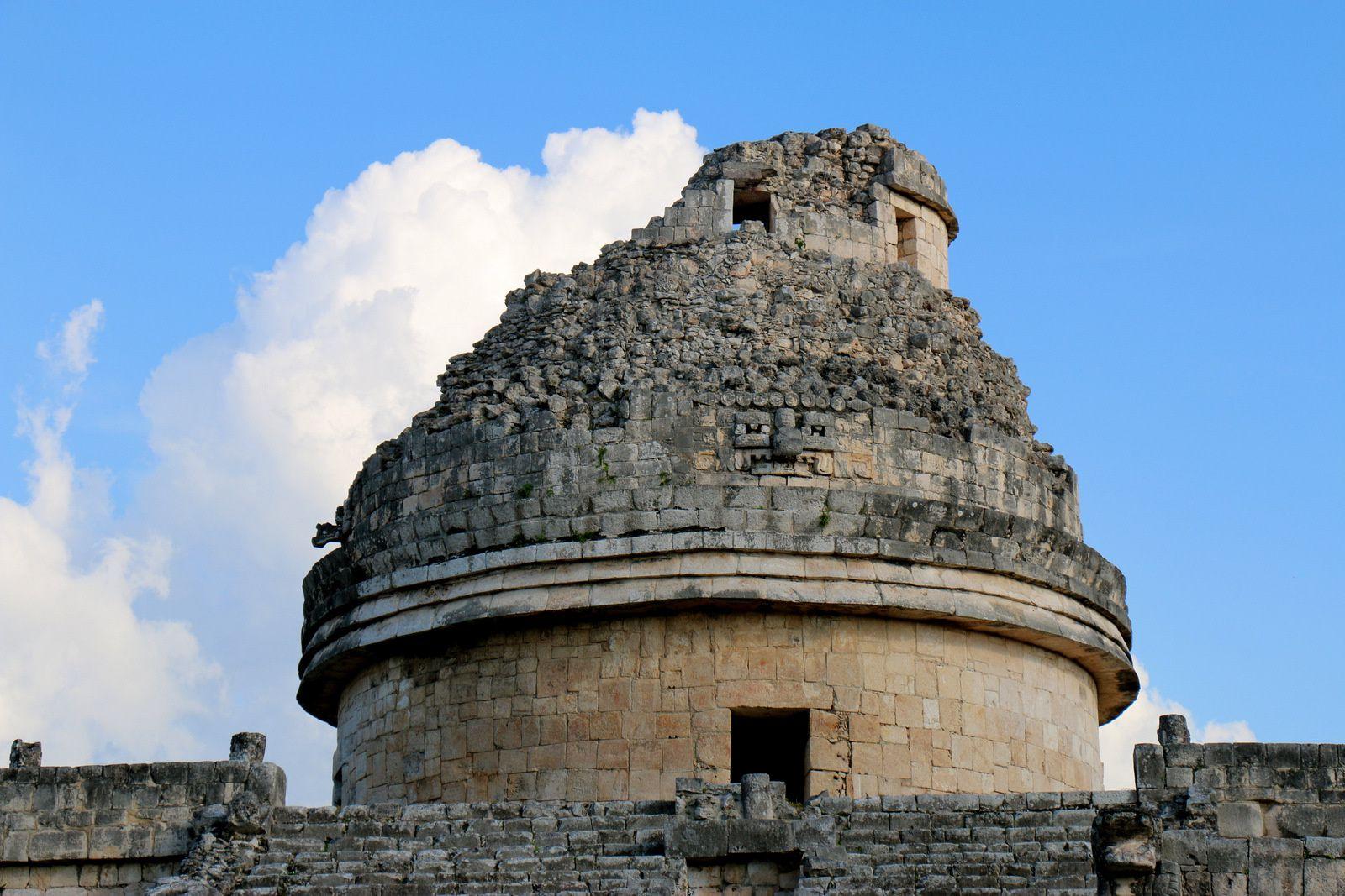 L'Observatoire (El Caracol) , Chichen Itza (Mexique)