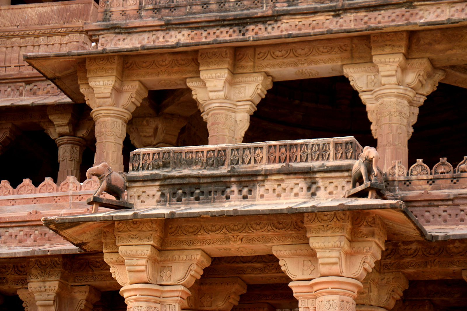 Cénotaphe du Maharaja Jaswant Singh , Mandore (Etat indien du Rajasthan)