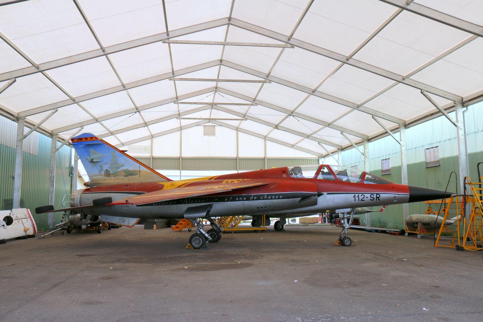 Mirage F1B du 1/30 Alsace porteur d'une décoration spéciale pour les 67 ans de l'escadron