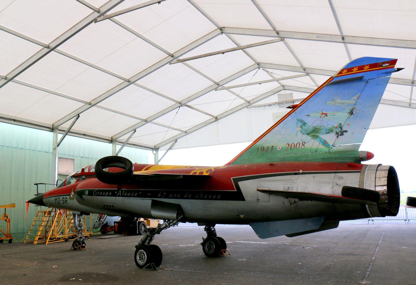 Mirage F1B du groupe Alsace