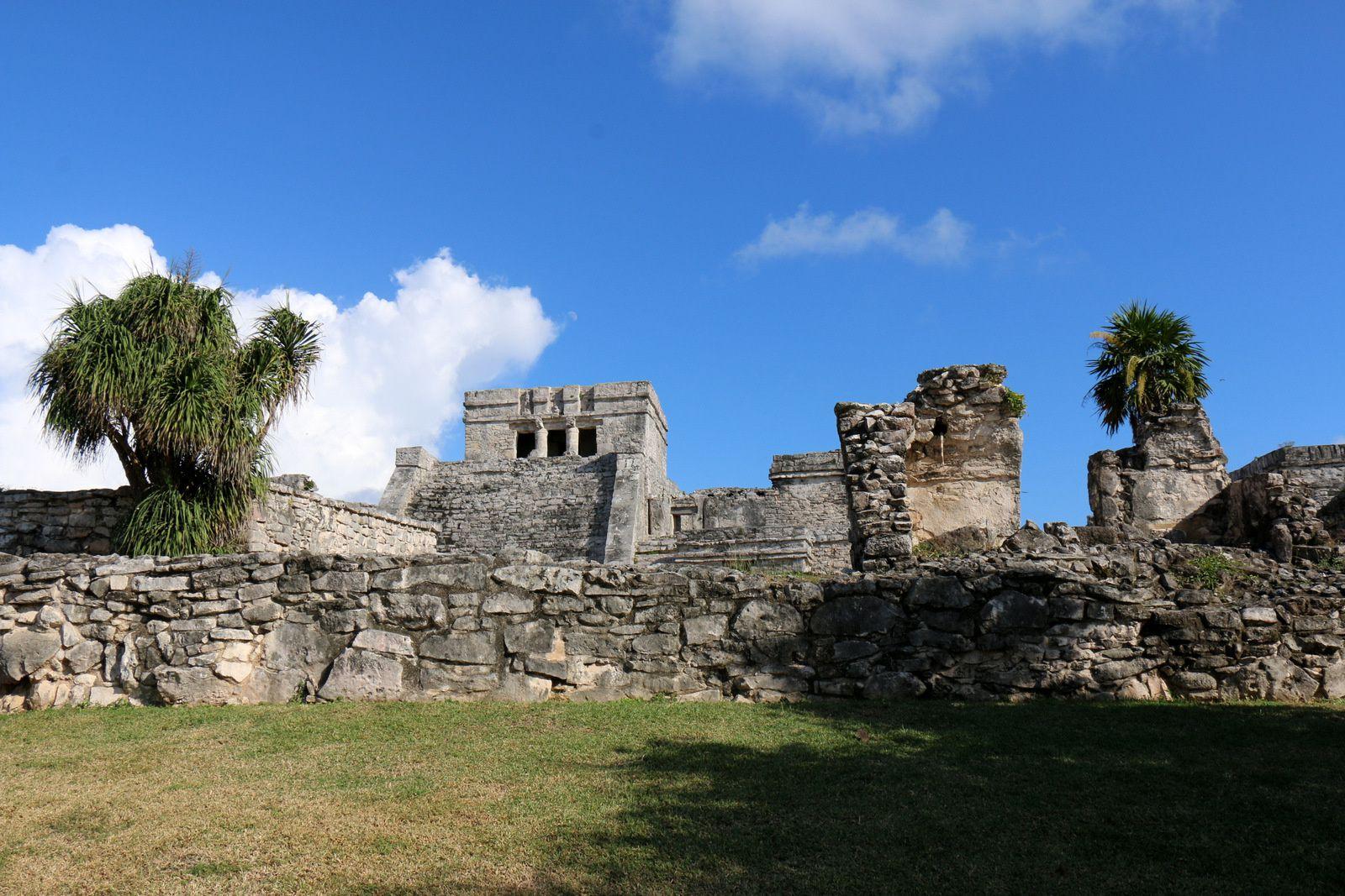 El Castillo, site archéologique de Tulum (Mexique)