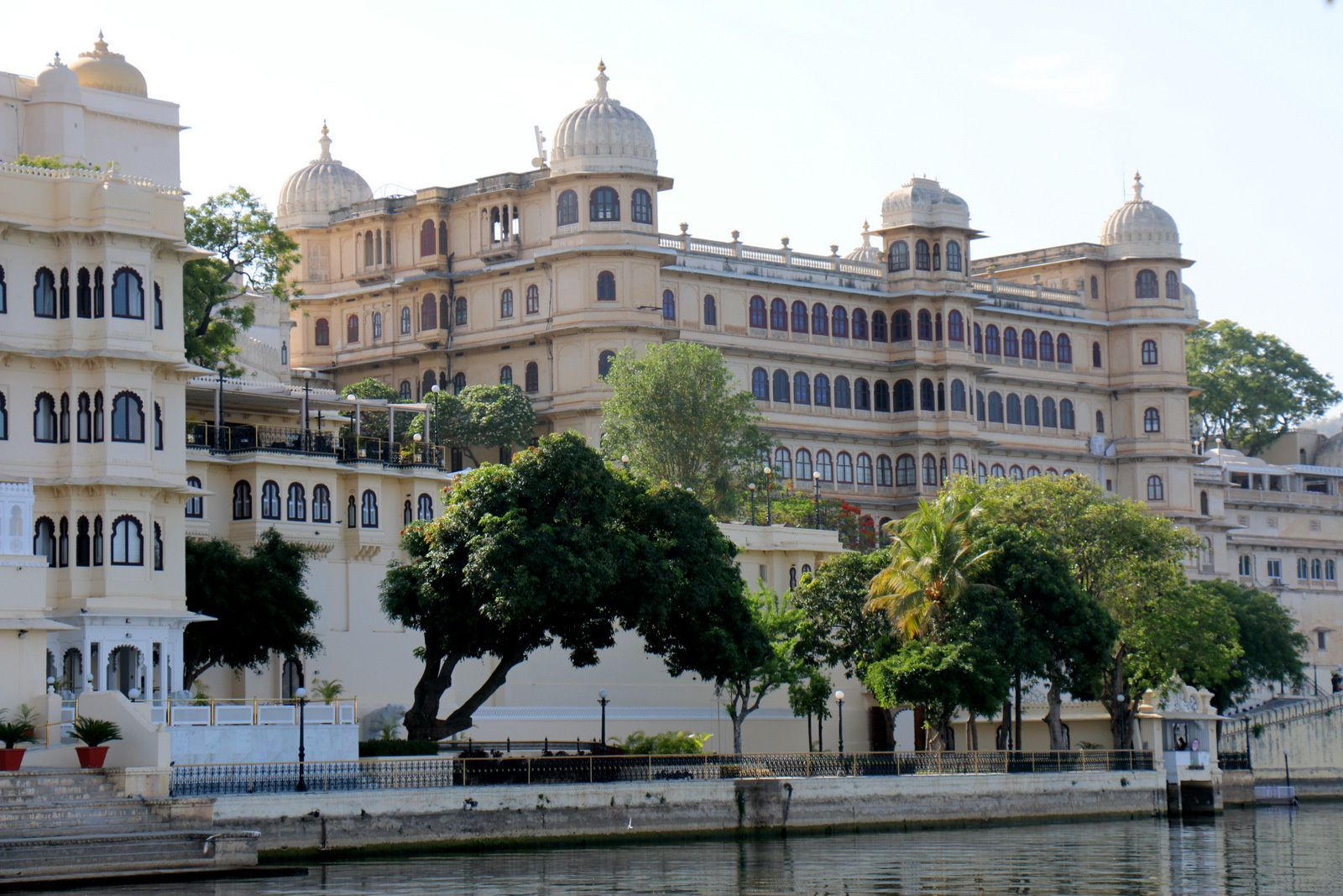 City Palace, lac Pichola (Rajasthan, Inde)