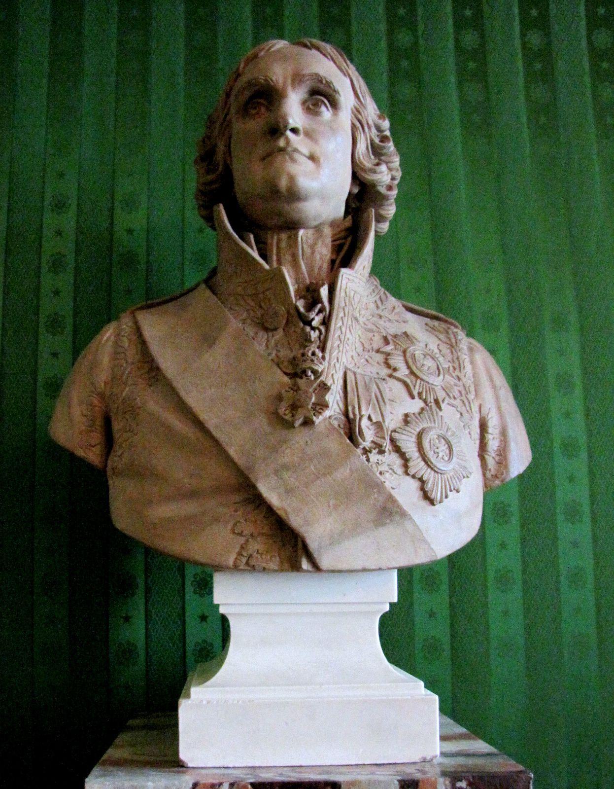 Jean-Jacques-Régis Cambacérès, buste par Louis-Laurent Roland