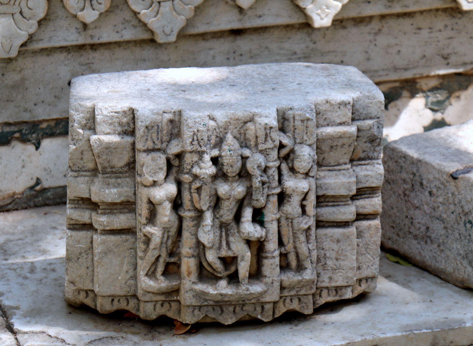 Dans le City Palace Museum (Udaipur, Inde)