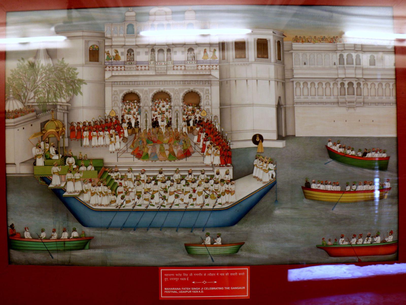 Maharanas Fateh Singhji, Sangram Singhji II, Swaroop Singhji