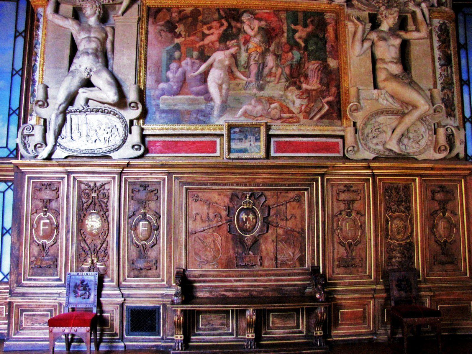 L'amour (fresque de Rosso Fiorentino), galerie François Ier du Château de Fontainebleau