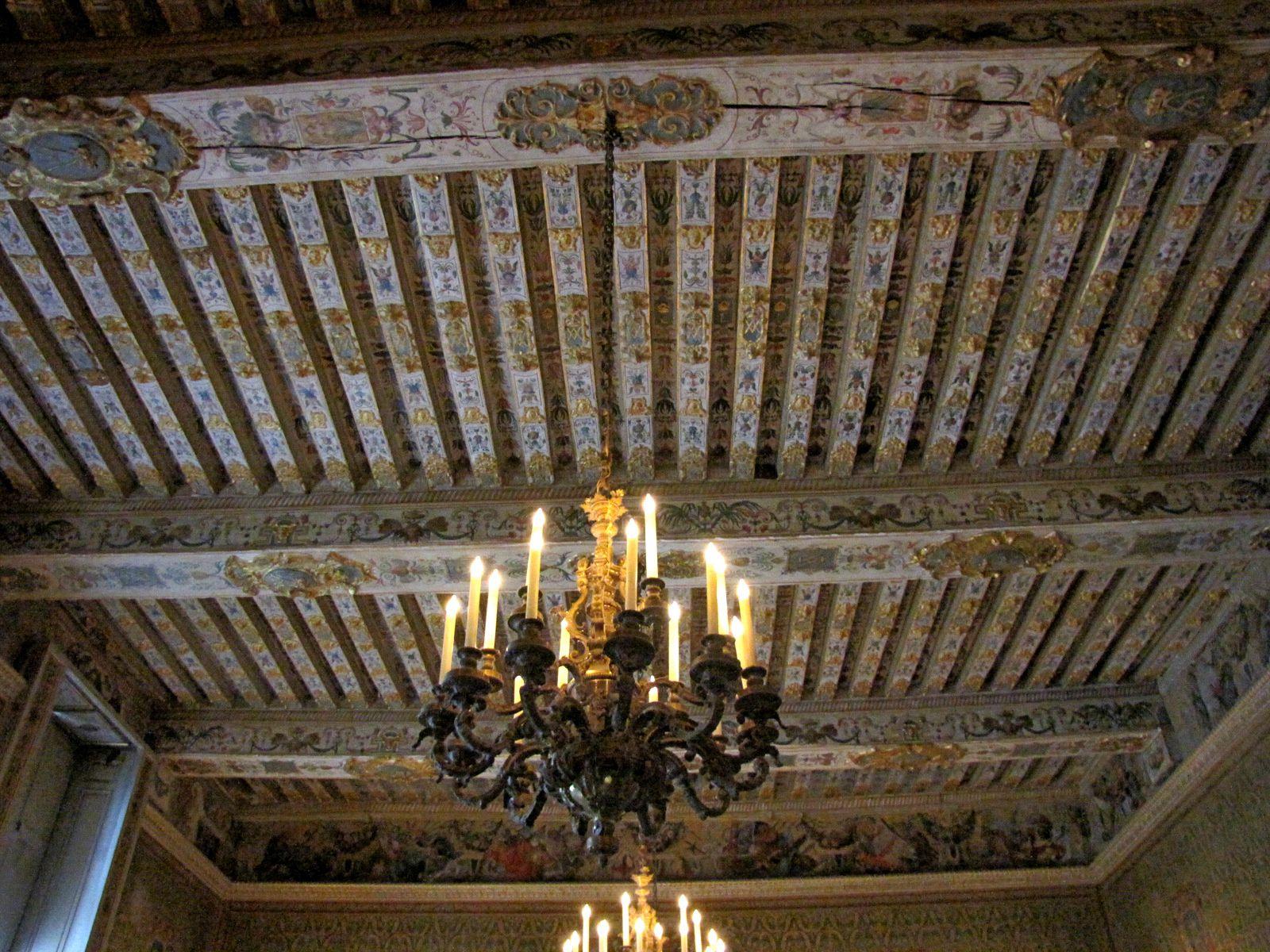 Cheminée de la Salle des Gardes, château de Fontainebleau