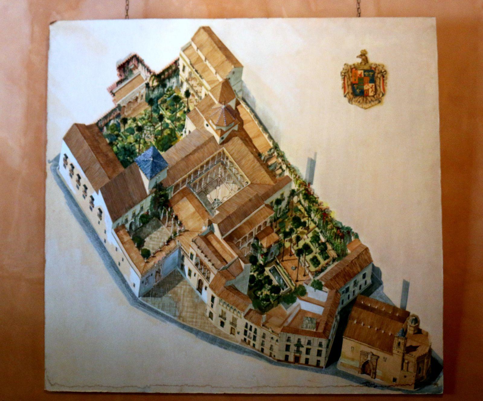 Plan de la Maison de Pilate