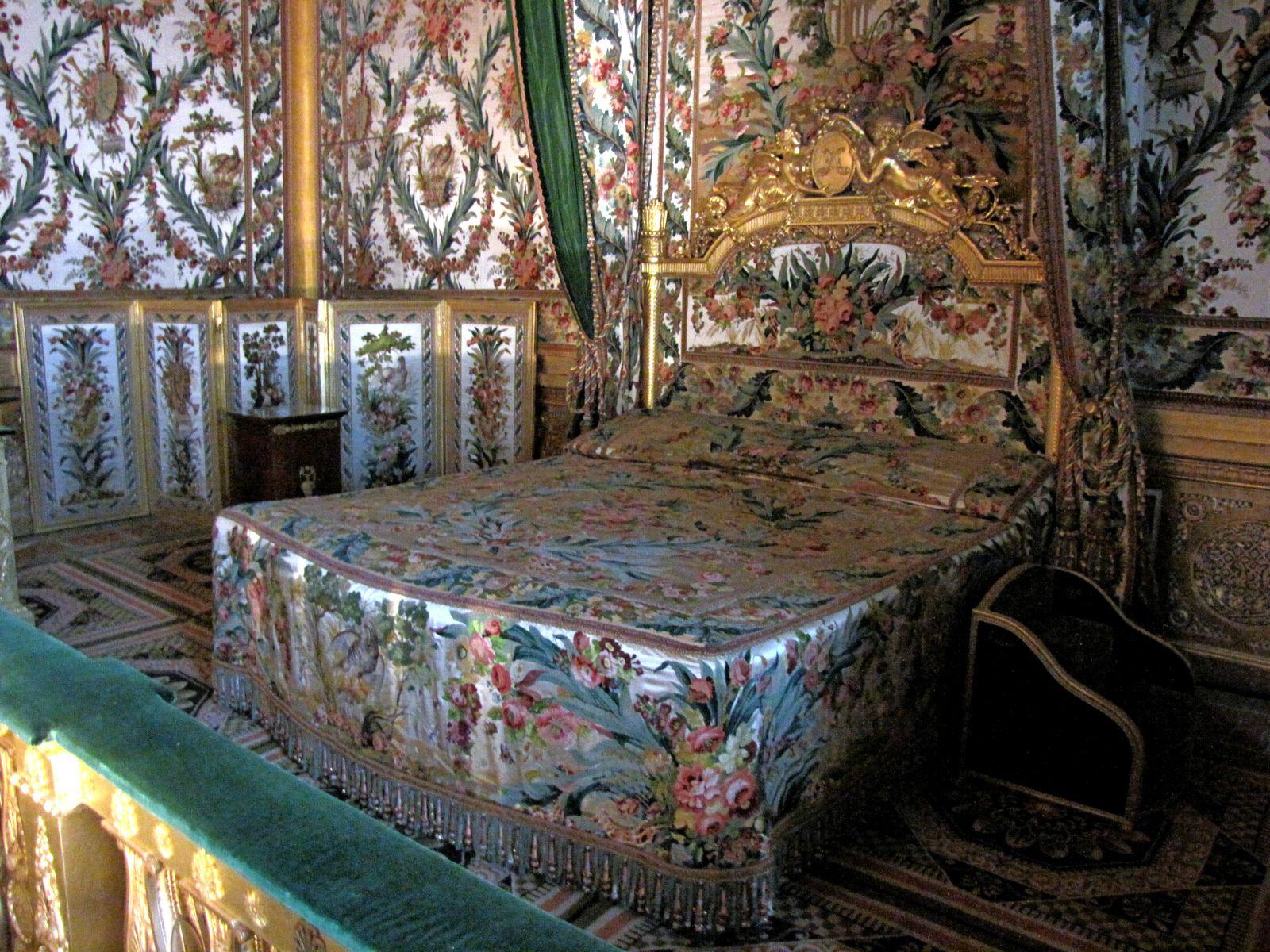Chambre de l'Impératrice, château de Fontainebleau