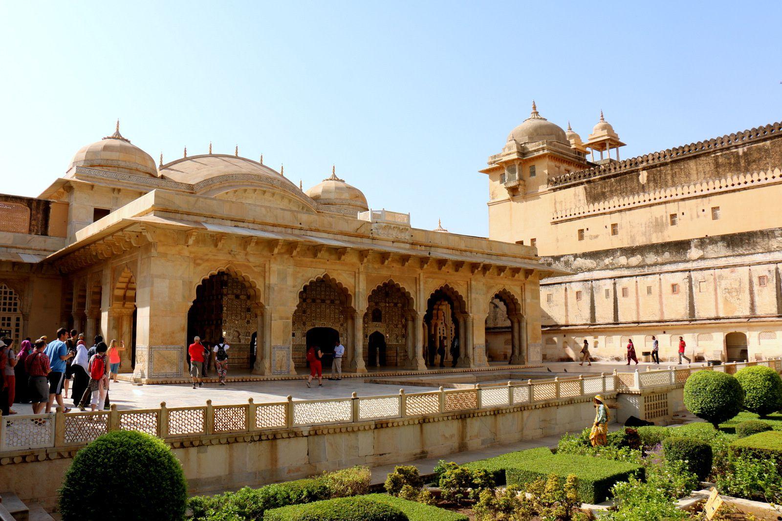 Diwan-i-Khas (hall des audiences privées), fort d'Amber