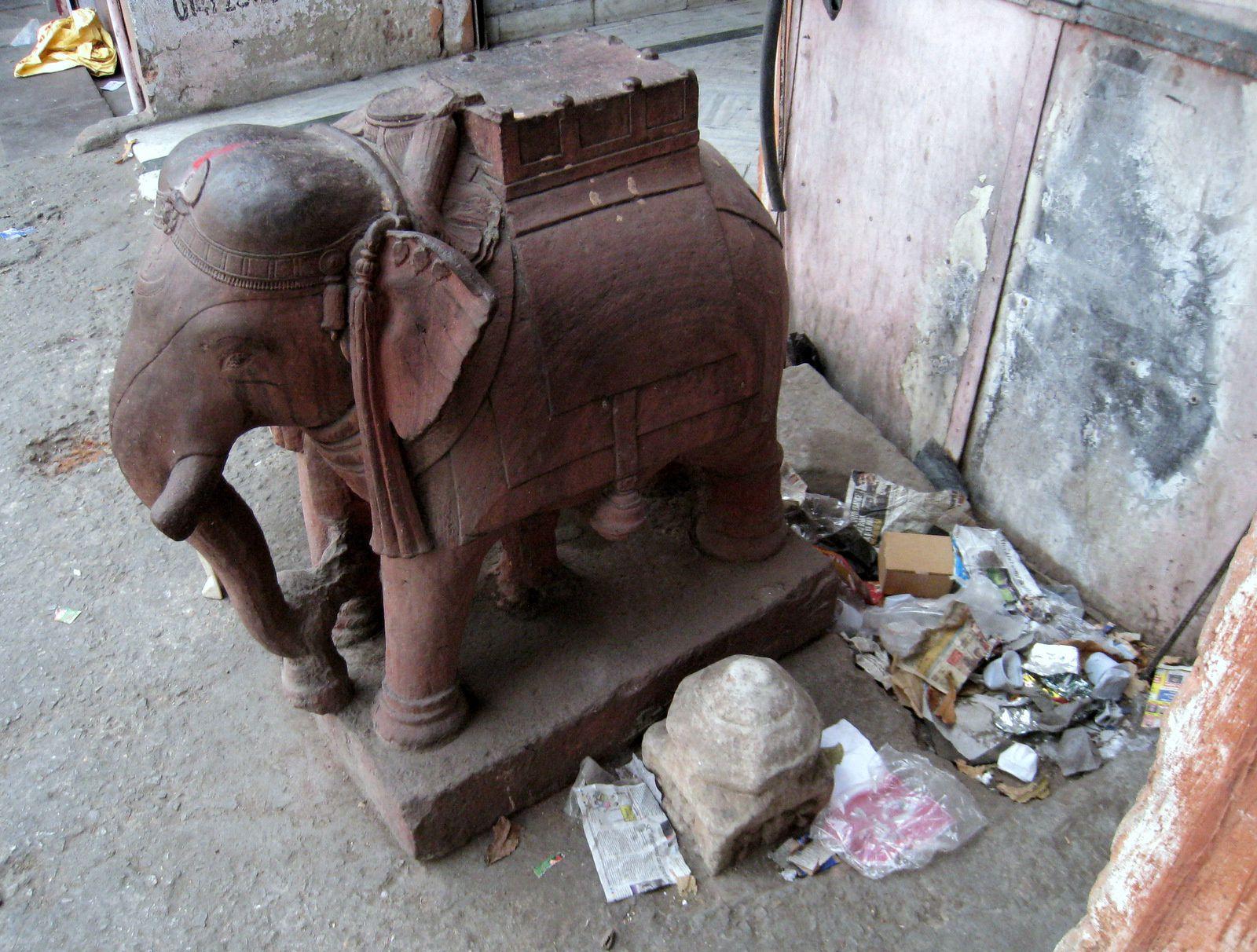 Transports de marchandises à Jaipur, Rajasthan (Inde)
