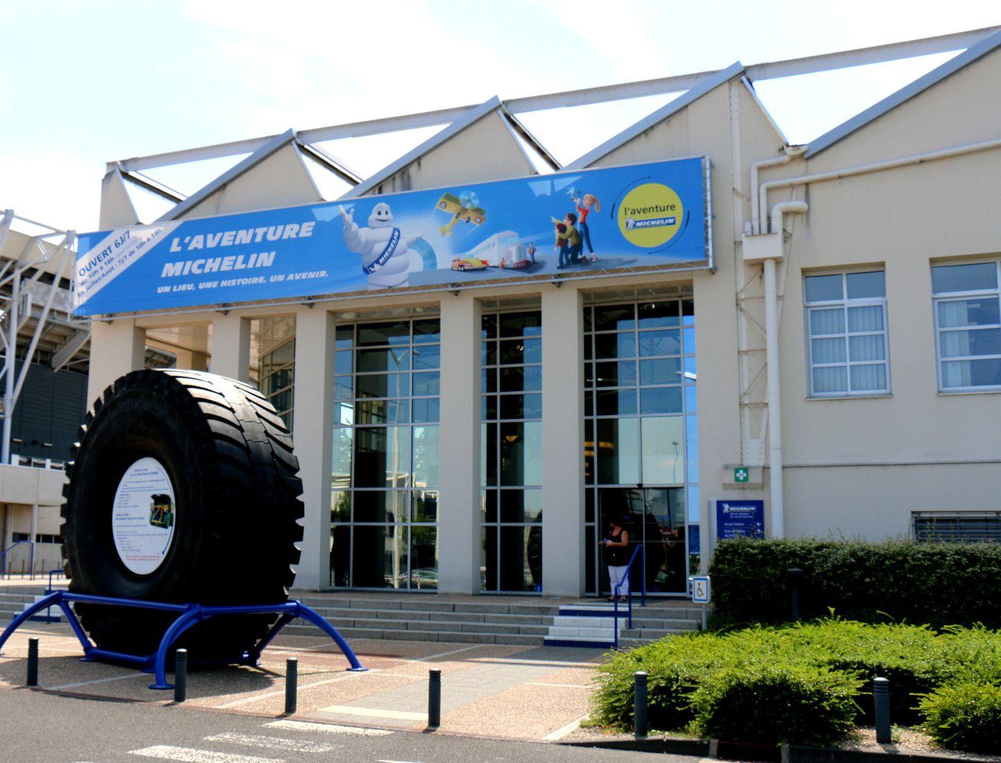 L'Aventure Michelin, la fontaine Bibendum