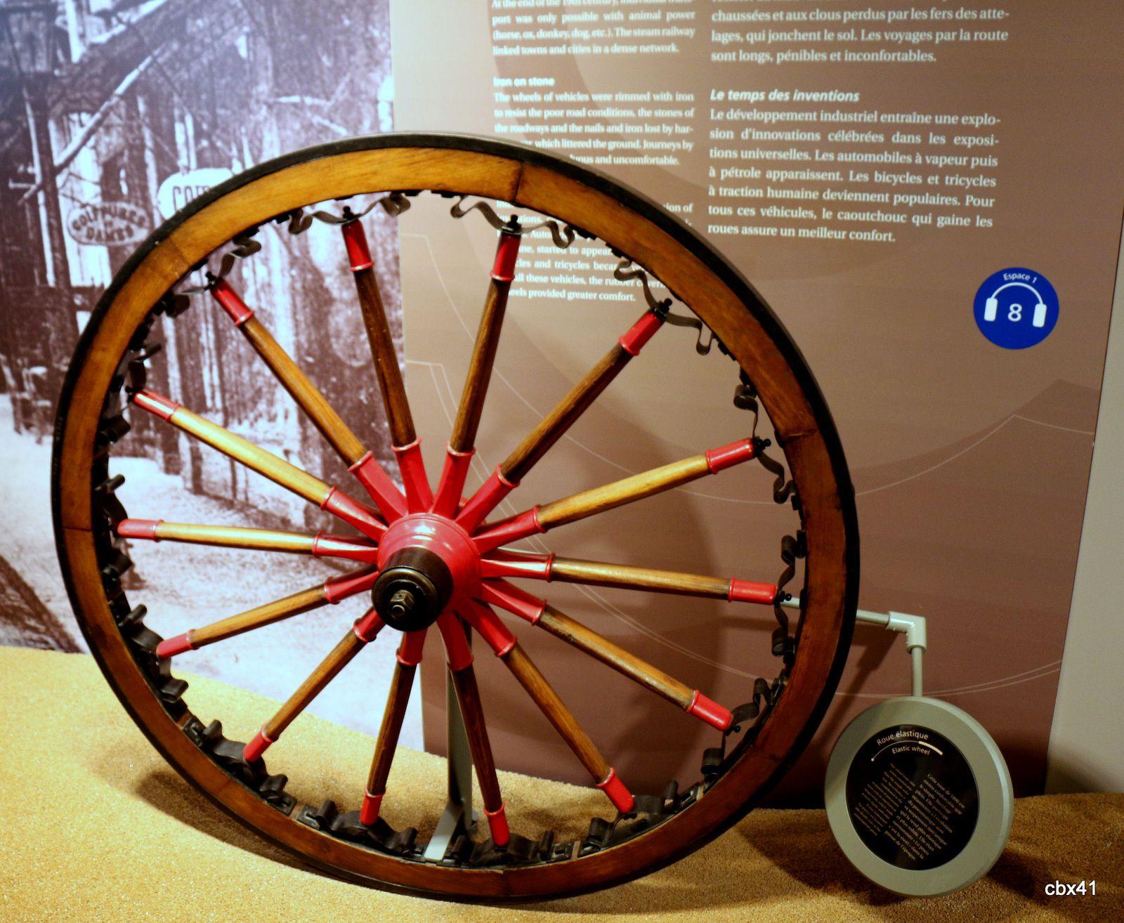 L'Aventure Michelin, roues élastiques