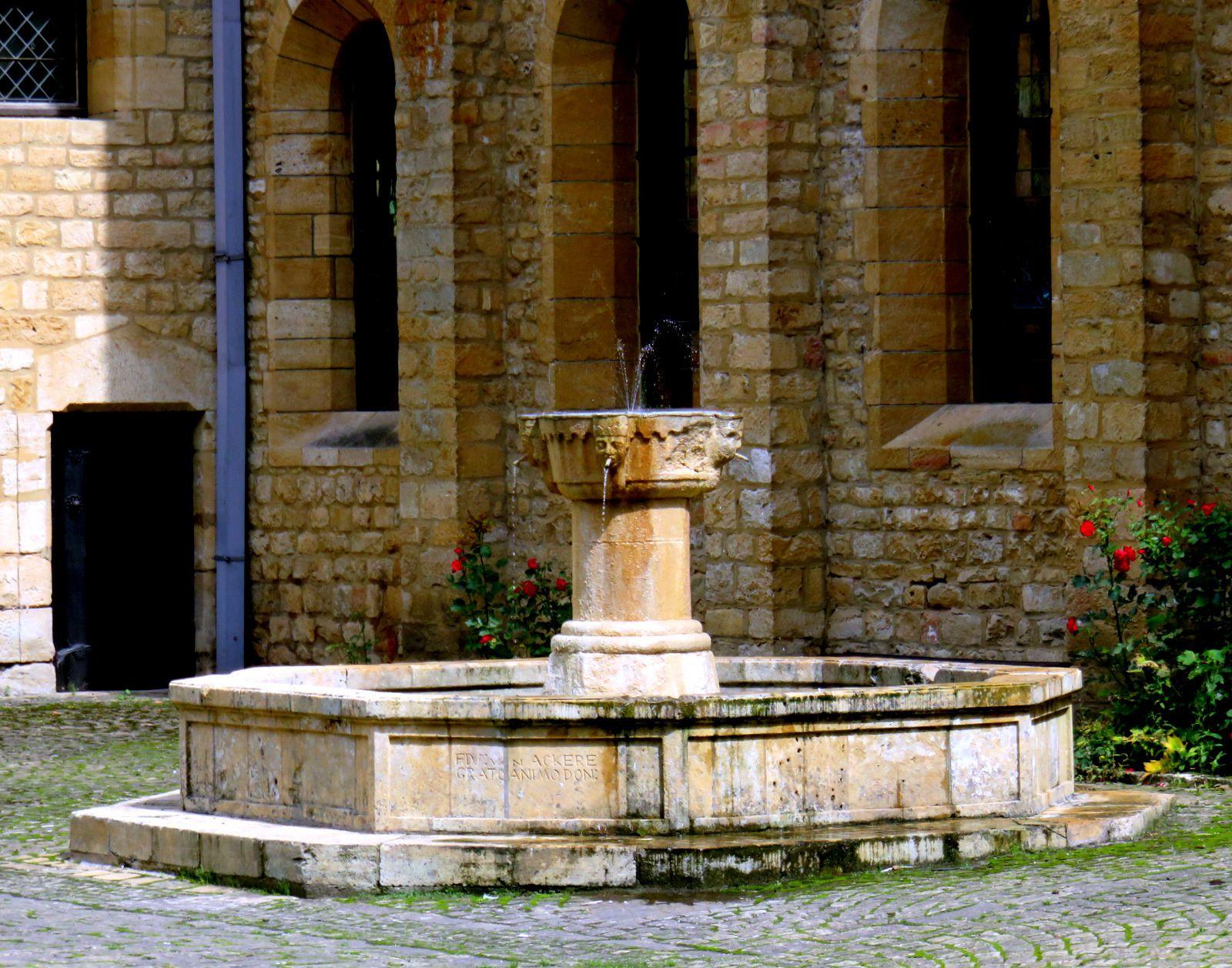 Abbaye d'Orval en Belgique