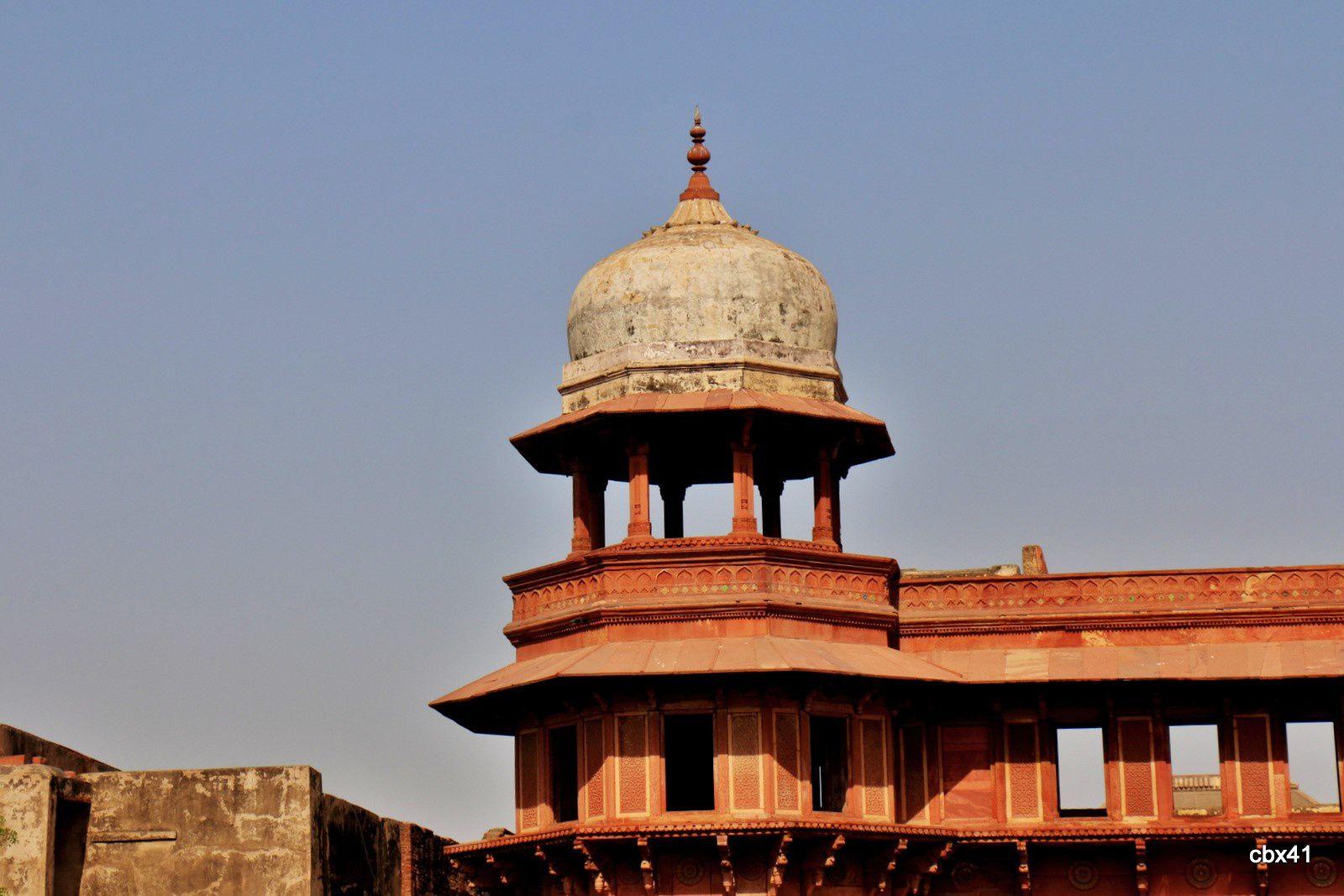 Le palais de Jahângîr.(Fort Rouge, Agra)