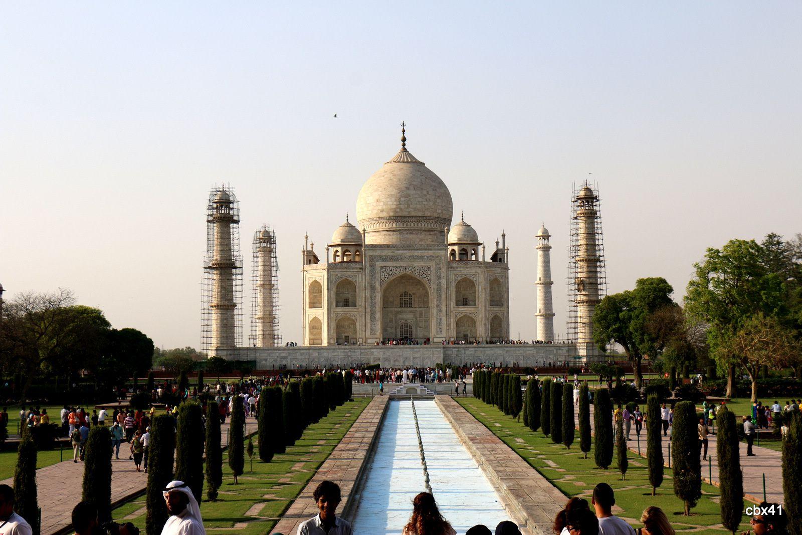Taj Mahal, Agra (Uttar Pradesh, Inde)