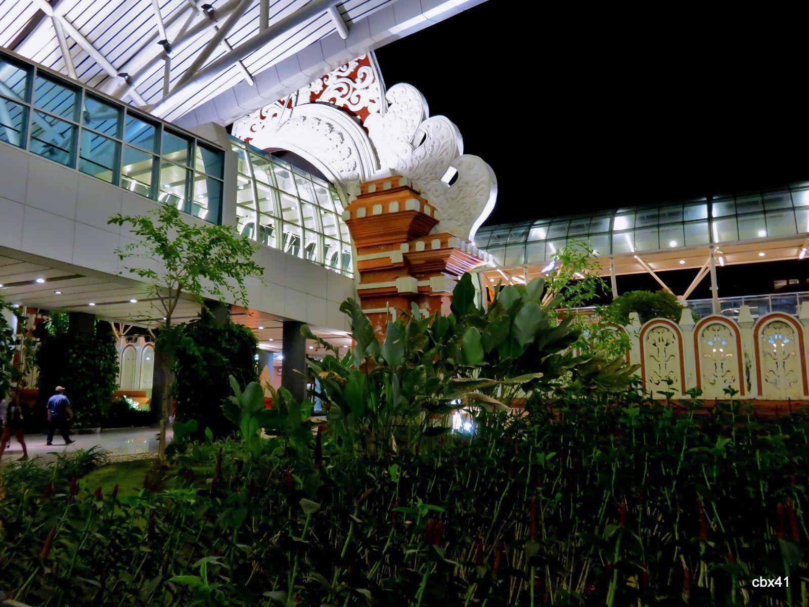 Aéroport de Denpasar, Bali (Indonésie)