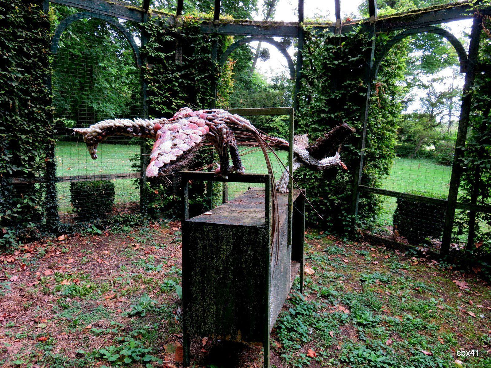 Château de Vendeuvre, la cage aux oiseaux