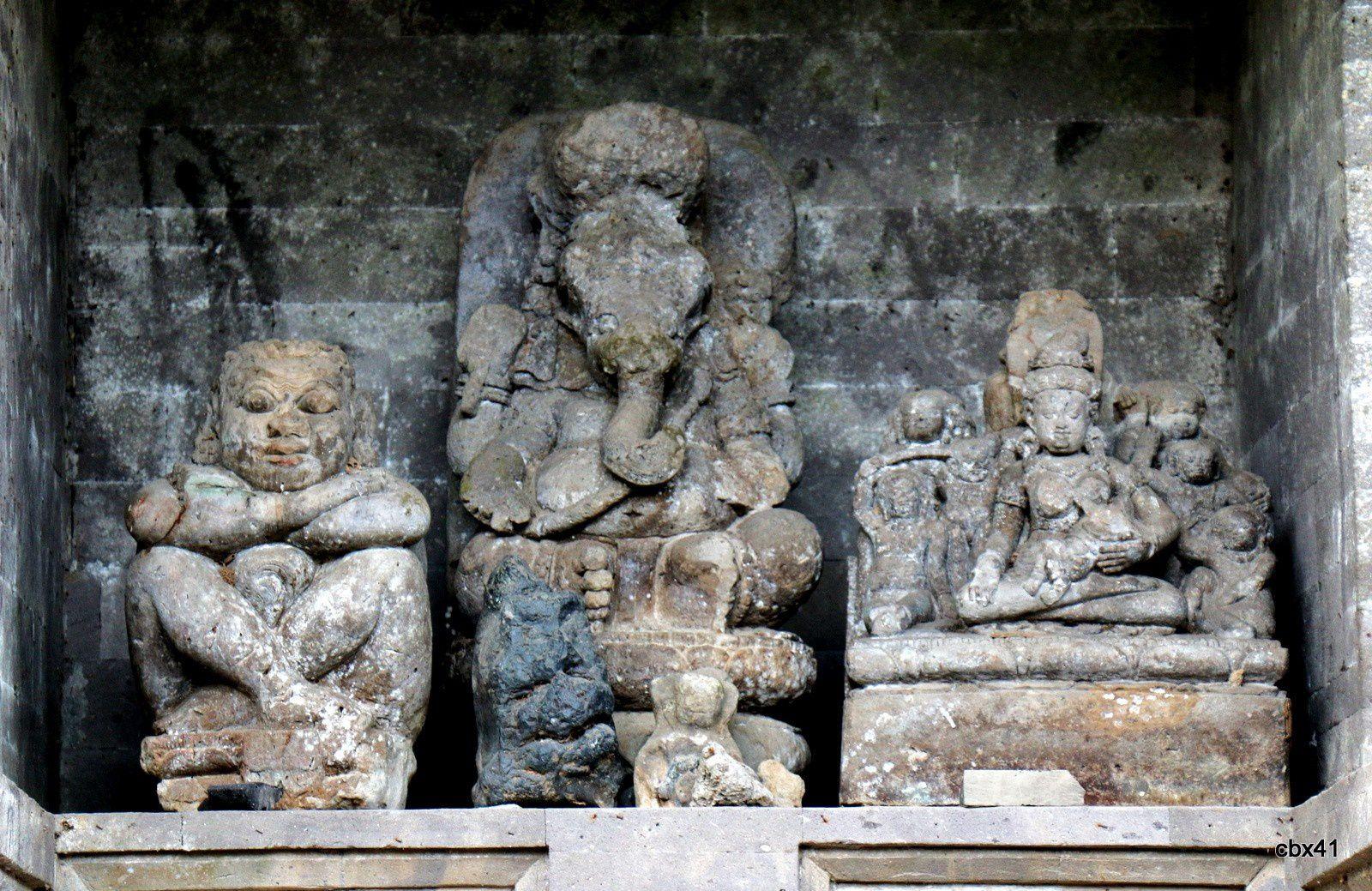 Temple de Goa Gajah ,Gianyar (Bali, Indonésie),