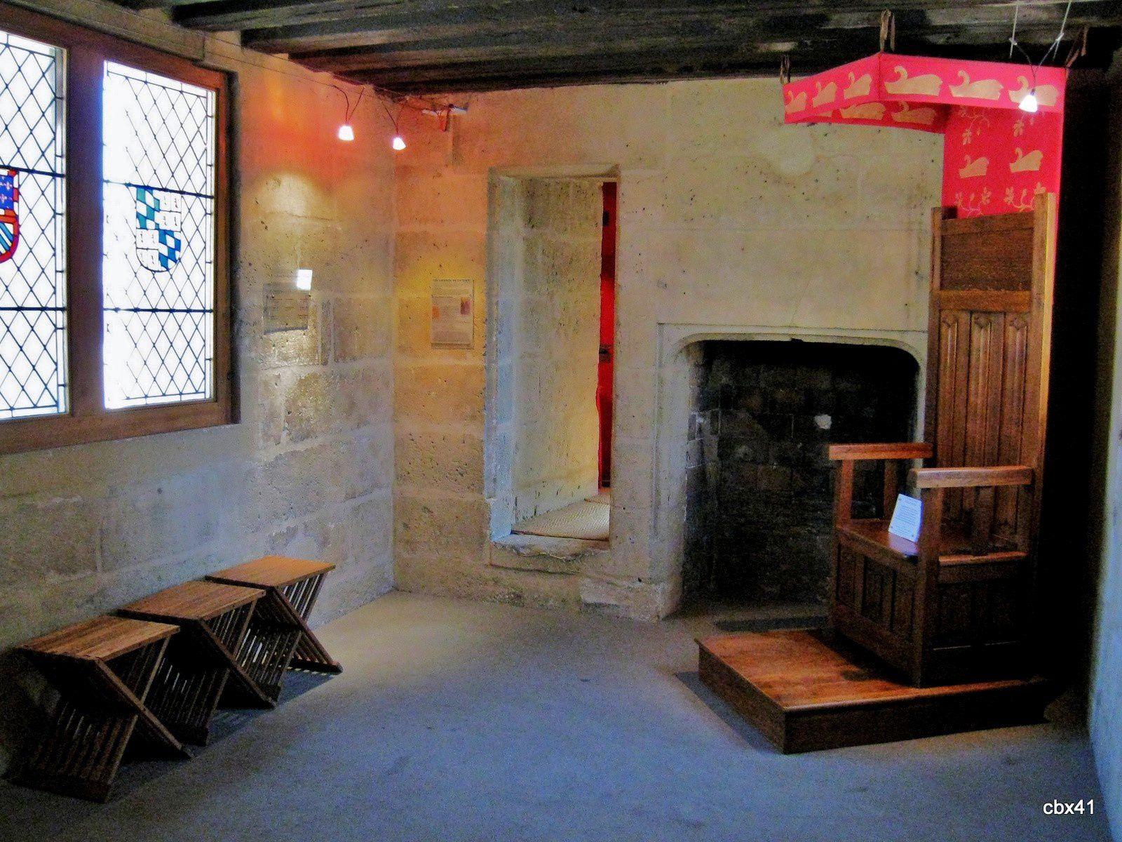 Tour de Jean sans Peur, salle dite Chambre de l'écuyer
