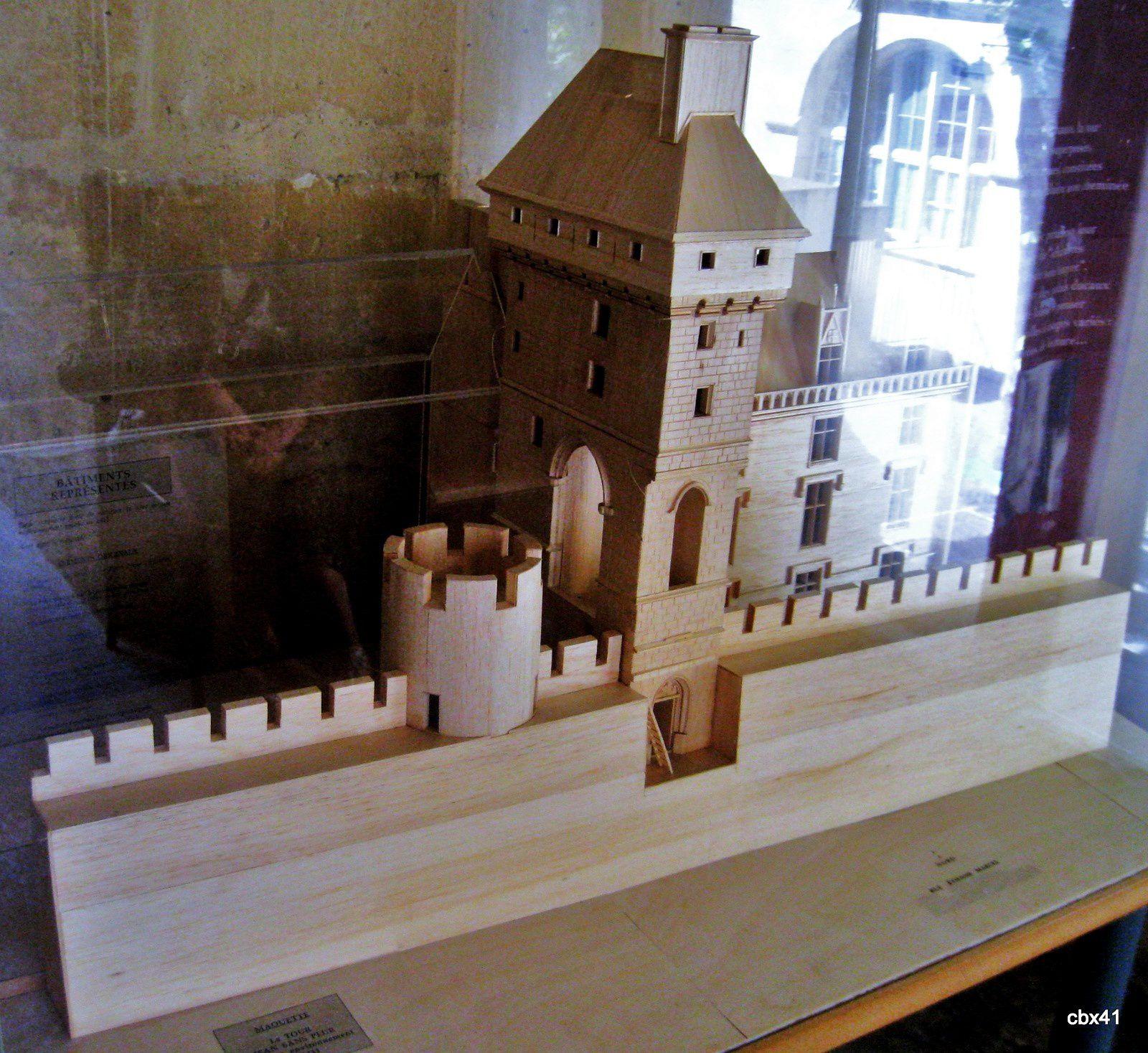 Maquette de la Tour de Jean Sans Peur