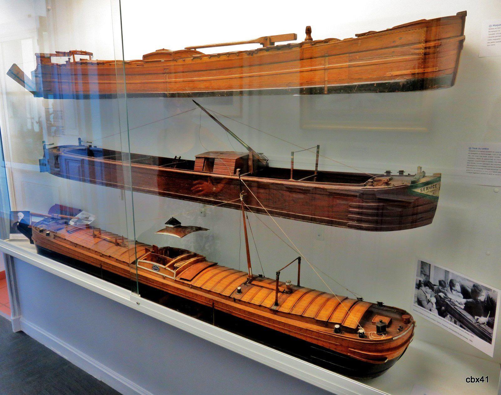 Maquettes de bateaux de type Freycinet