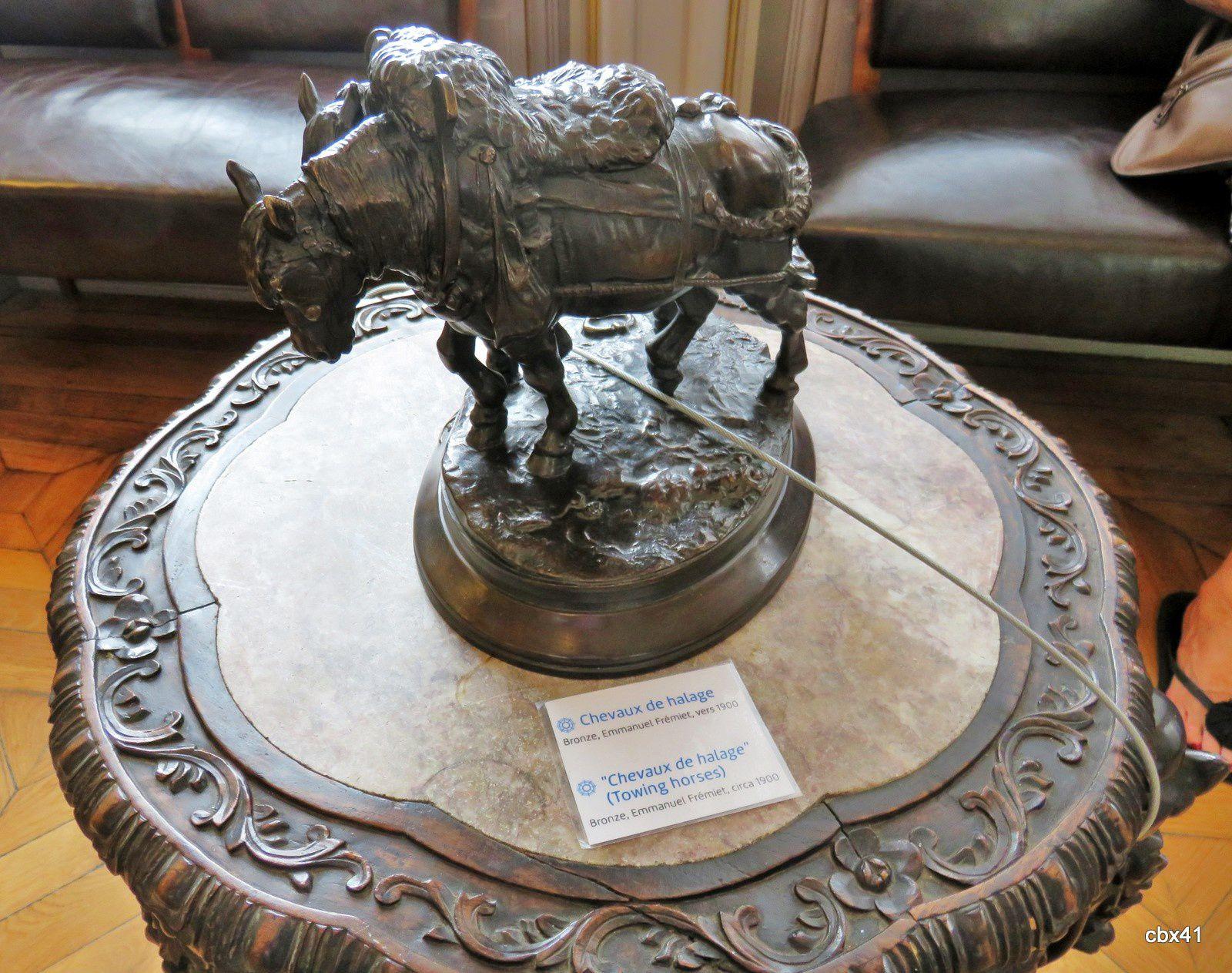 Les chevaux de halage, musée de la batellerie