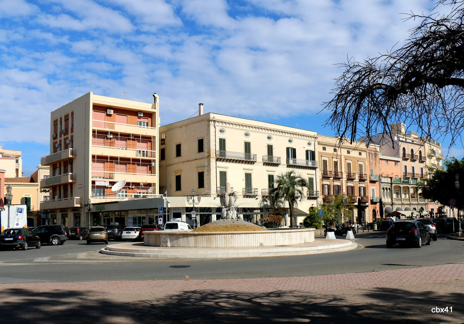 Fontaine à Milazzo, Sicile
