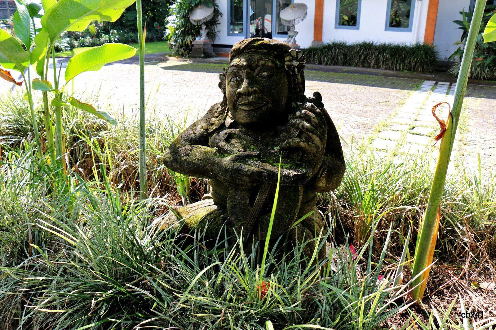 Villa Puri Candikuning (Bali), les dieux de l'hôtel