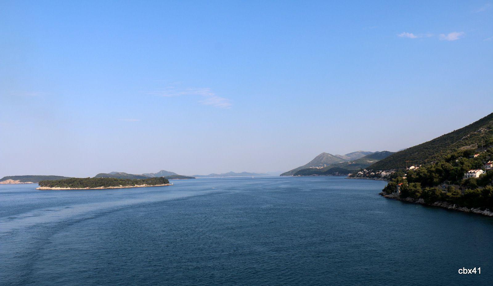 Arrivée à Dubrovnik (Croatie)