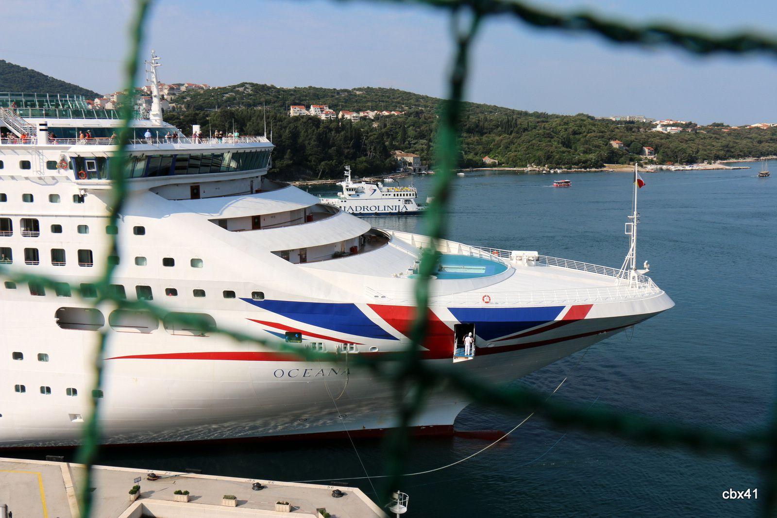 "Paquebot ""Oceana"" à Dubrovnik"