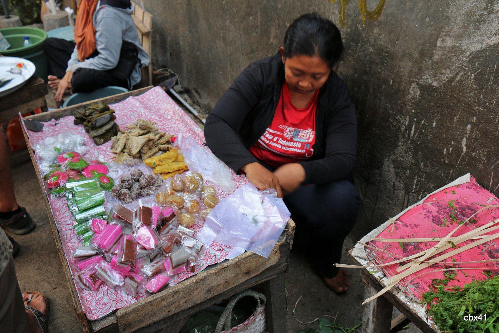 Banjar (Bali), commerces de poissons