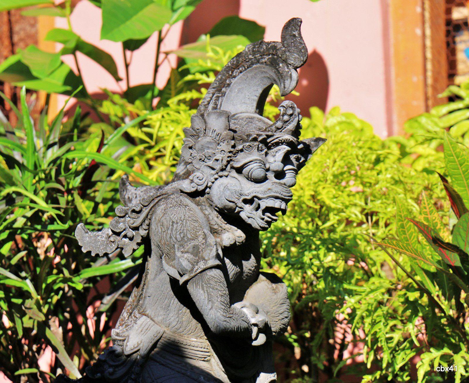 Brahma Vihara Arama, entrée du monastère bouddhiste (Bali)