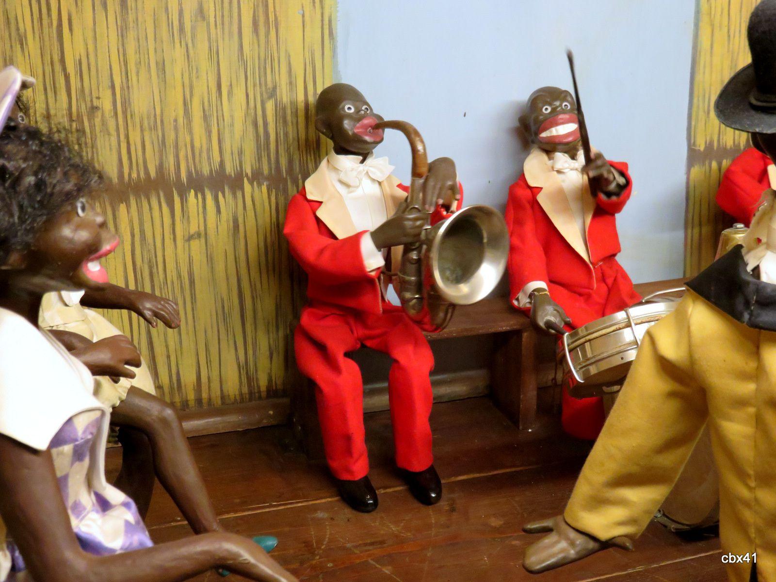 Musée des automates (Falaise), musiciens et danseurs