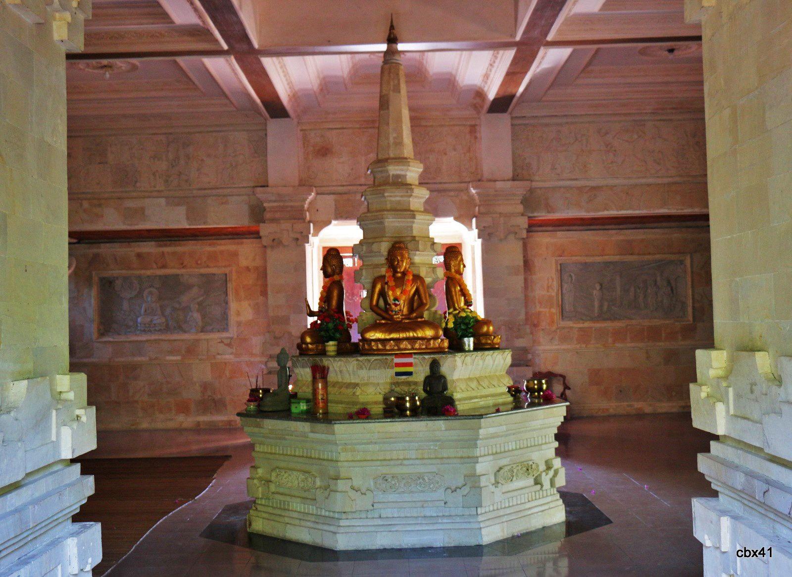 Monastère Brahma Vihara Arama (Bali), maison de Bouddha
