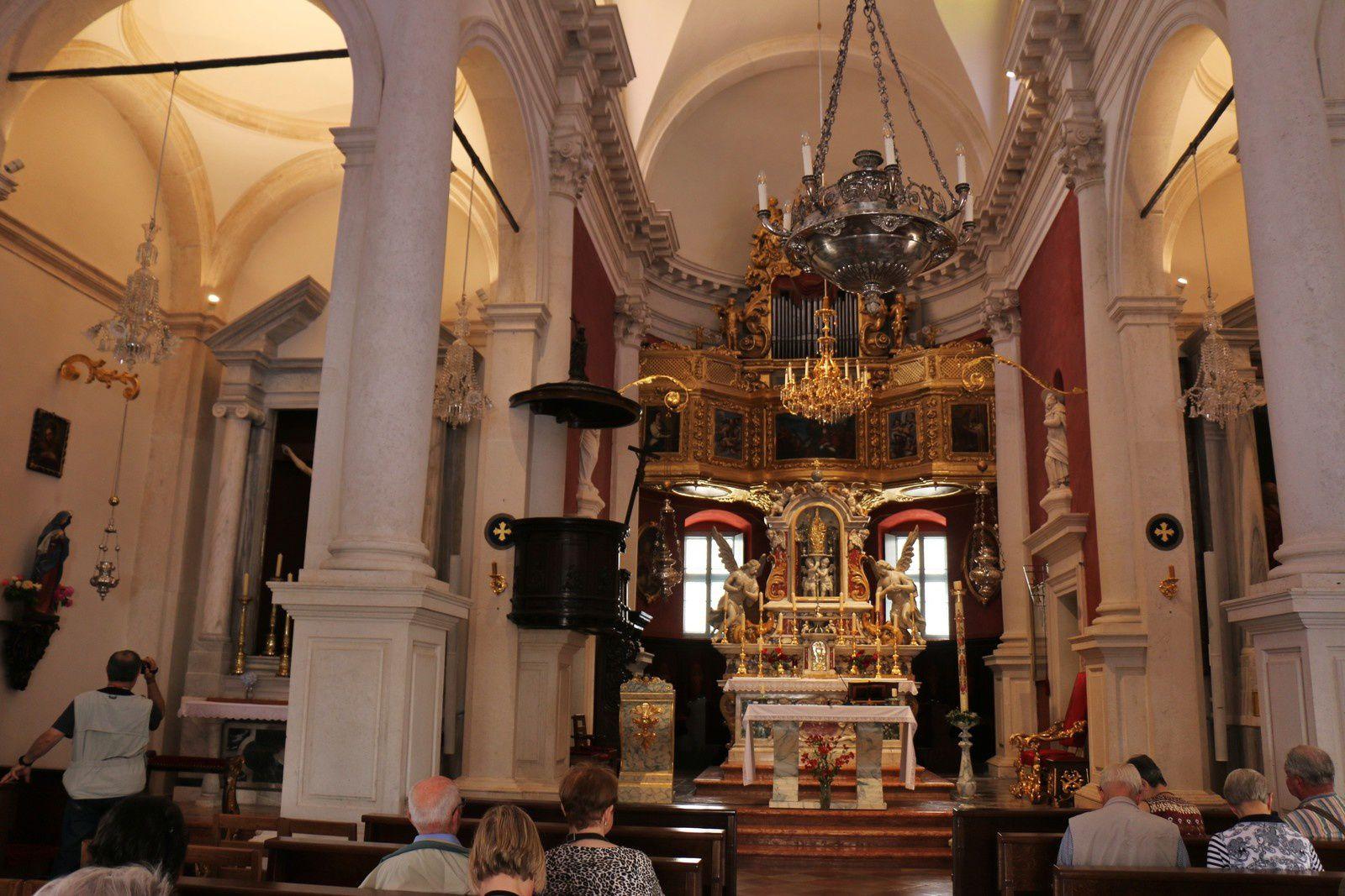 Saint Sylvan, église Saint Blaise, vieille ville de Dubrovnik (Croatie)