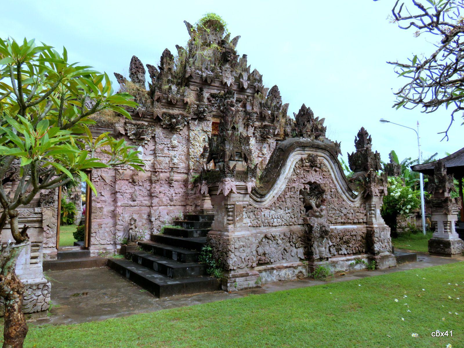 Le temple Pura Beji, la deuxième porte (Bali, Indonésie)