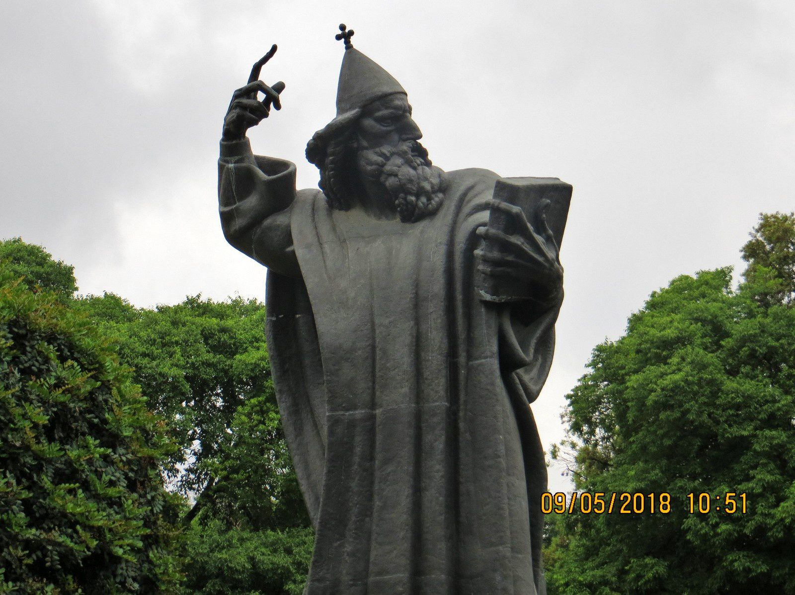 Statue de Gregory of Nin, Split (Croatie)