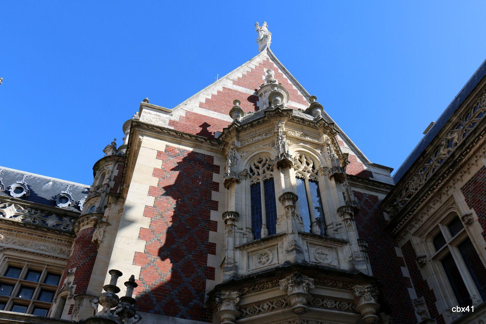 Palais de la Bénédictine, rue du Domaine (Fécamp)