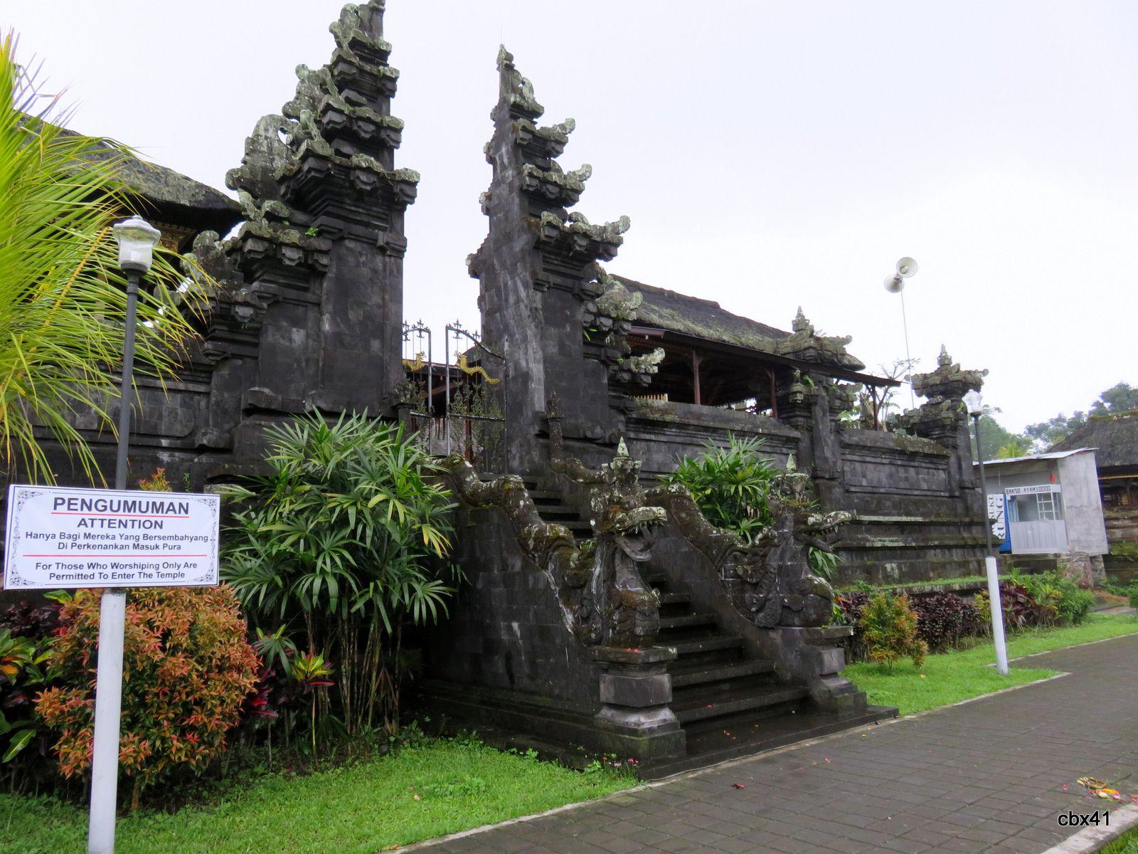 Temple (pura) Basukian Puseh Jagat, Bali (Indonésie)