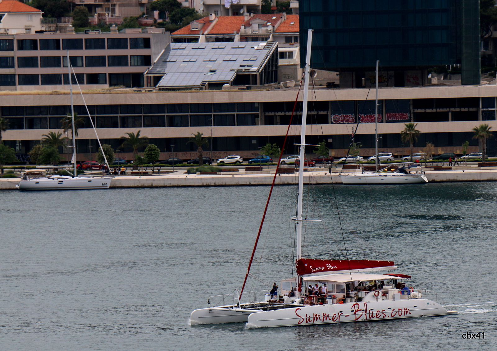"Catamaram ""Summer Blues"", Split (Croatie)"